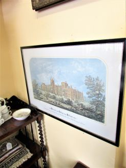 Framed print , queens university ,belfast