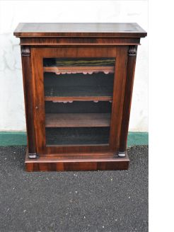 Victorian rosewood cabinet
