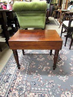Victorian mahogany bidet