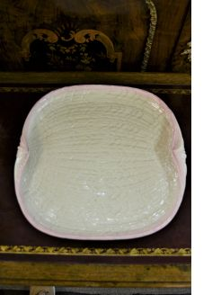 1st period belleek plate plate