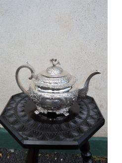 Georgian silver tea pot