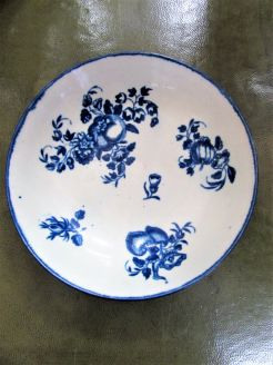 18th century worcester dish