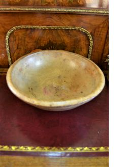 19th century Old wooden bowl