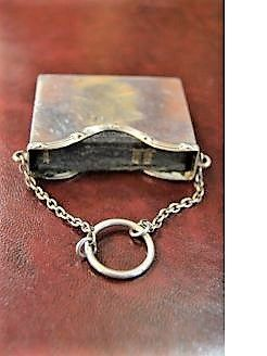 Silver bible holder
