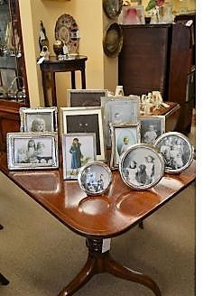 Selection of various photo frames available in oakland antiques belfast & ballinderry antiques