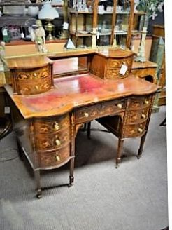 Edwardian rosewood desk