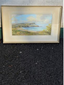 Oil painting by N.irish artist