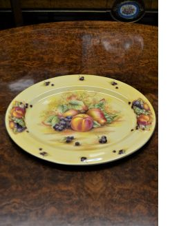 Aynsley porcelain oval plate
