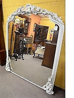 Large victorian mirror