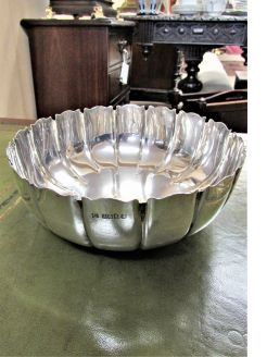 Irish silver bowl