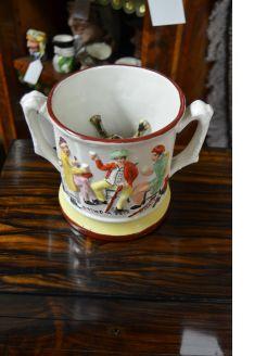 Porcelain Frog Mug