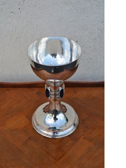 Silver plated arts & crafts chalice