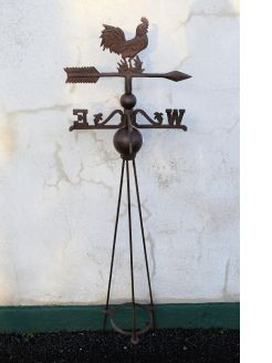 Metal weathervane