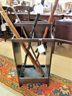Oak stick stand