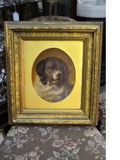 Gilt framed Oiliograph