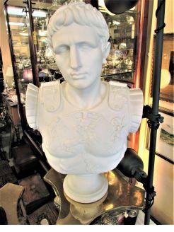 Largecomposite bust /  sculpture
