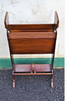 Art nouveau style book / magazine stand