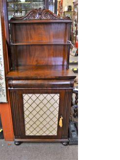 19th century mahogany sideboard  /cabinet