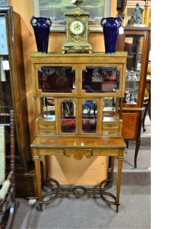 French kingswood cabinet