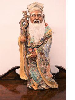 Japanese satsuma figure