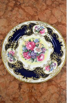 Crown staffordshire plate