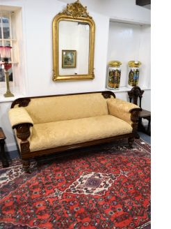 William IV rosewood settee