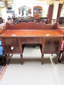 19th century mahogany sideboard