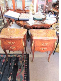 Pair of kingswood pedestals