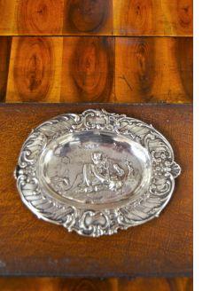 Dutch silver dish