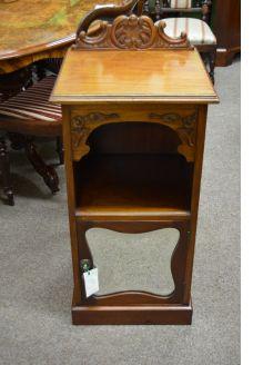 Mahogany pedestal / cabinet