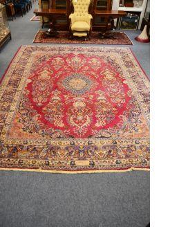 Large woolen rug 1920s