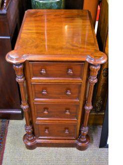 Victorian mahogany pedestal