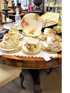 Thirty four piece royal worcester tea set