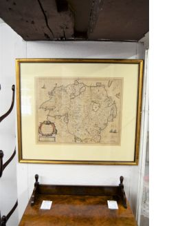 17th century dutch map