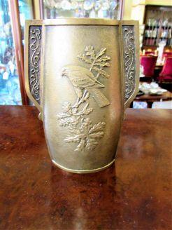Old bronze vase