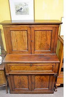 Georgian mahogany secretaire /cabinet