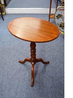 19th century mahogany snap top table