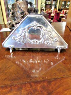 Sterling silver letter rack
