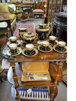 15 piece aynsley coffee set