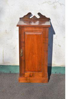 Edwardian mahogany pedestal cabinet