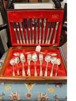 49 piece cased cutlery set