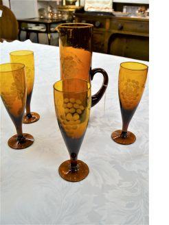 1950s lemonade set