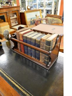 Victorian,mahogany book holder