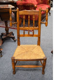 Oak childs chair