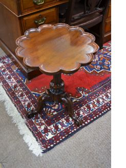 Victorian mahoghany occasional table