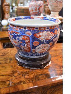 Japanese imari jar/ vase