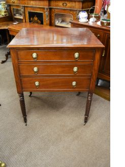 19th century mahogany chest