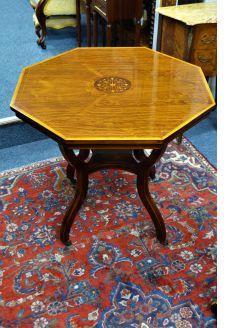 Edwardian rosewood table