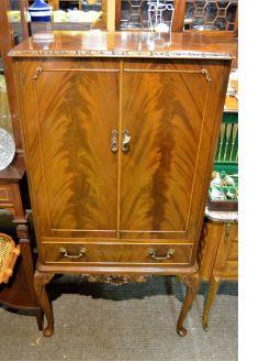 1960s mahogany drinks cabinet