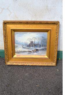 Gilt framed watercolour